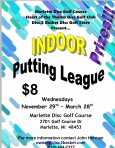 Marlette Indoor Putting League logo