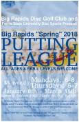 Big Rapids Spring Putting League logo