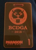 BCDGA Bag Tag League 2018 logo