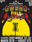 Singles at Owens Field presented by Dynamic Discs logo