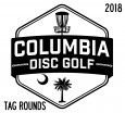 Columbia Disc Golf Tags 2018 logo