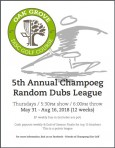 Champoeg Thursday Night Random Dubs logo
