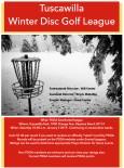 Tuscawilla Winter Disc Golf League logo