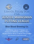 LFDC Winter Marksman Putting League logo