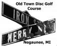 Negaunee Disc Golf League logo