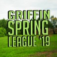 Griffin Spring League '19 logo