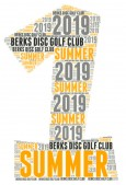 Berks Disc Golf Club Summer I 2019 logo