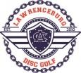 Lawrenceburg disc golf logo