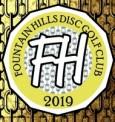 Fountain Hills Disc Golf Club Summer League logo