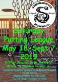 Saturday Putting League at SRB logo