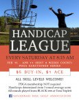 SDGA Winter Handicap League II logo