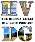 The Hudson Valley Disc Golf Podcast DGC Bag Tag League logo