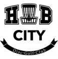 Hub City Disc Golf Club League logo