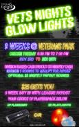 Vets Nights Glow Lights logo