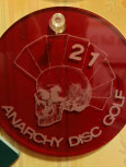 Anarchy DG Sanctioned Sundays logo