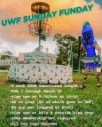 UWF Sunday Funday League logo
