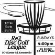 Re3 Disc Golf Club logo