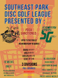 Southeast Singles Presented by TOWCH and Disc Golf Sporting Goods logo
