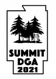 Summit DGA Traveling Bag Tag Singles League logo