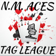 N.M. Aces Tag League logo