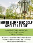 North Bluff Singles League logo