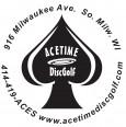 """""""AceTime"""" Tuesday Leagues logo"""
