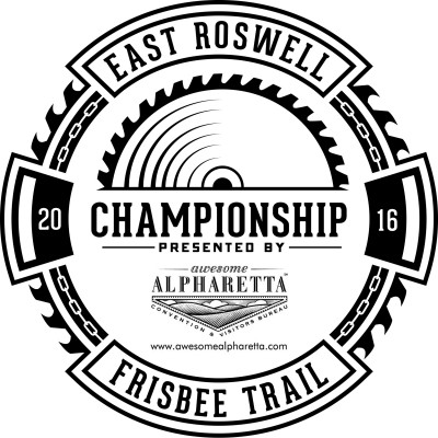 East Roswell Frisbee Trail Championship logo