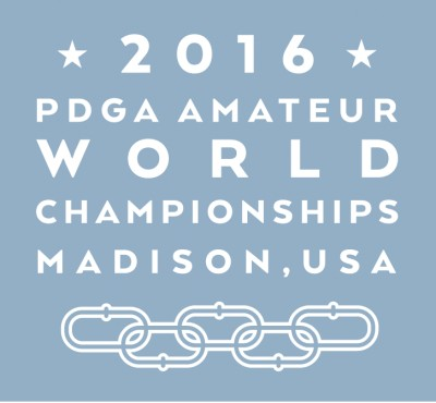 2016 PDGA Amateur & Junior Disc Golf World Championships logo