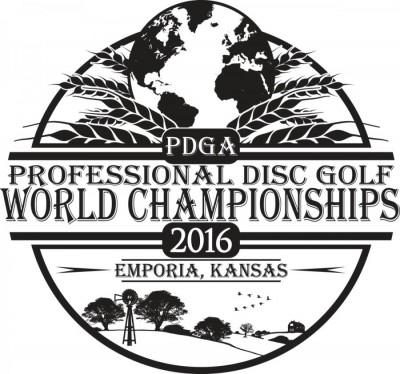 2016 PDGA Professional Disc Golf World Championships logo