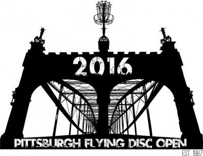 Pittsburgh Flying Disc Open Pro Weekend logo