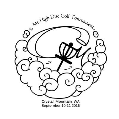 Mountain High Disc Golf Tournament logo