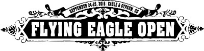 Flying Eagle Open presented by Bonfire Brewing & Latitude 64 logo