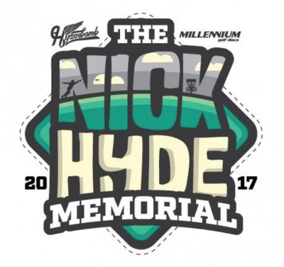 Nick Hyde Memorial - AM Weekend powered by Innova and Hyzerbomb logo