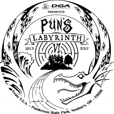 The DGA Presents Puns Labyrinth VI logo