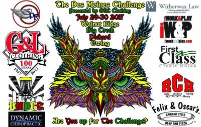 The Des Moines Challenge logo