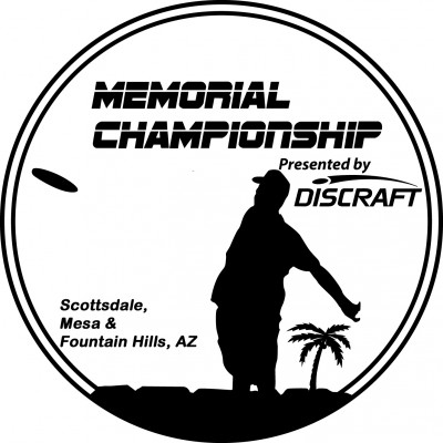 DGPT - Memorial Championship presented by Discraft logo