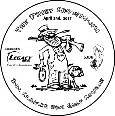 The Piney Showdown Presented by Legacy Discs logo