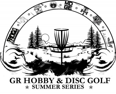 GR Hobby & Disc Golf's 2017 Summer Series Hammond Hill - Pro, MA2, MA4, AMM. FA logo