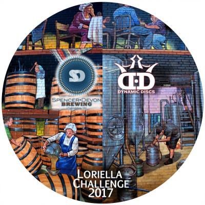 ODDS #1 - Loriella Challenge AM - MA1 & MM1 logo