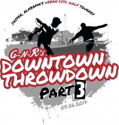 Downtown Throwdown Part 3 logo