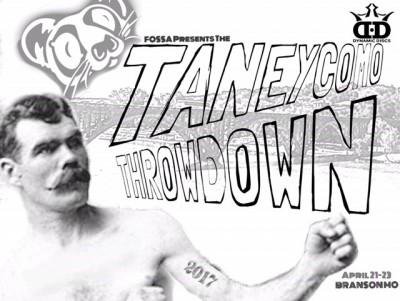Fossa Disc Golf Presents: The Taneycomo Throwdown in Branson Mo. logo