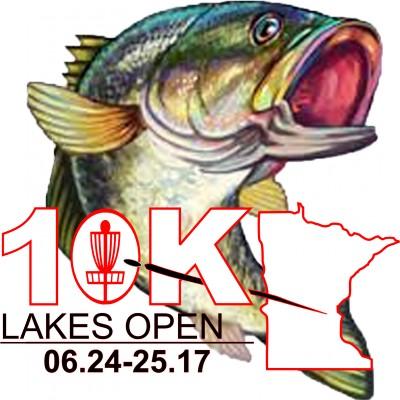 10K LAKES OPEN presented by Innova Disc Golf logo