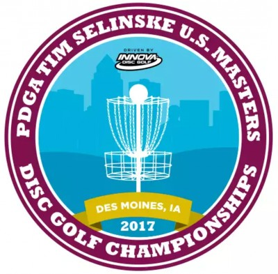 2017 Tim Selinske US Masters presented by Innova Champion Discs logo