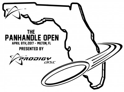 The Panhandle Open Presented by Prodigy Disc logo