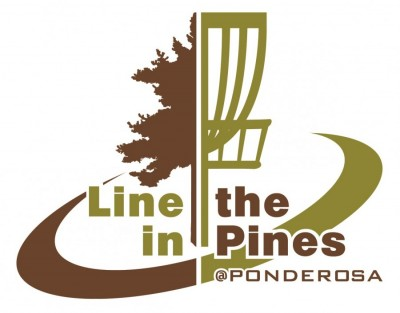 Line in the Pines at Ponderosa Sponsored by Dynamic Discs GDG 5K/10K Event logo