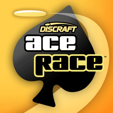 Discraft Ace Race hosted by Discalibur DGC logo