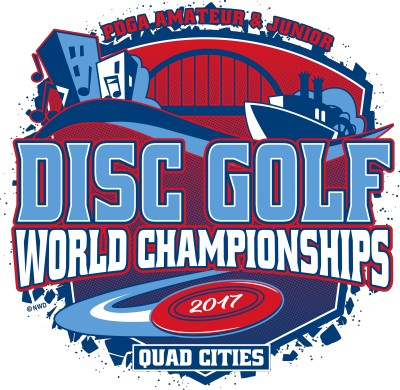 2017 PDGA Amateur & Junior Disc Golf World Championships logo