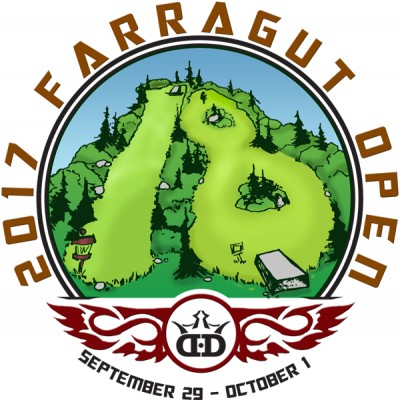 Farragut Open 2017 (PRO and Advanced Fields) logo
