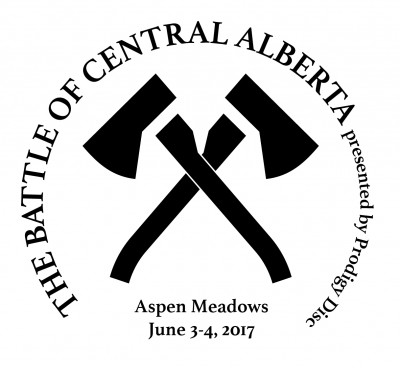 The Battle of Central Alberta presented by Prodigy Disc logo