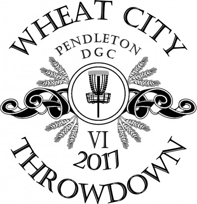 Wheat City Throwdown VI presented by Dynamic Discs, 208 Discs, & Zuca logo